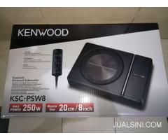 Subwoofer Aktif Active Kenwood KSC-PSW8 Bass Sub Kolong Jok Underseat