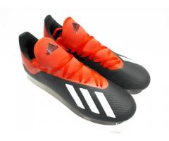 Sepatu Bola Adidas X18.3 FG Black Red New Original Sisa Stok ADD002