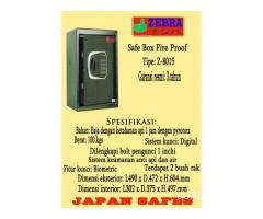 safebox fire proof zebra tipe z8015