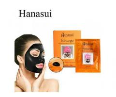 Masker Wajah Naturgo Hanasui Lightening Peel Off Face Mask BPOM