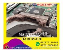 maintenance hardware laptop bisa ditunggu ya di poetra comp aja