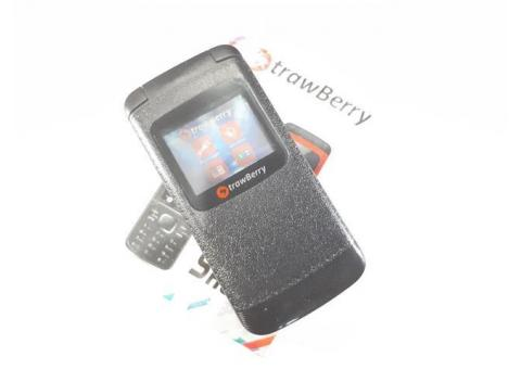 Hape Murah Strawberry Shoju ST808 Flip Phone New Dual SIM