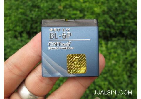 Baterai Nokia BL-6P BL6P 7900prism GMTech With IC Protect 1100mAh
