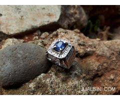 Permata Blue Safir Similiar To Royal Blue No Heat SF014 Memo Big Lab