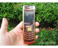 Hape Antik Mewah Verteu M6i Body Metal Kulit Luxury Phone