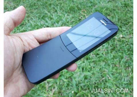 Hape Nokia Pisang 8110 4G Reborn Seken Support WA Normal Mulus