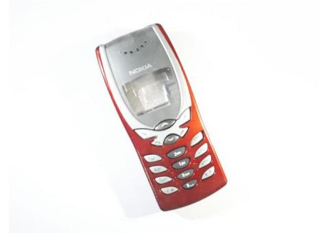 Casing Nokia 8250 Jadul New Fullset Plus Keypad Tulang