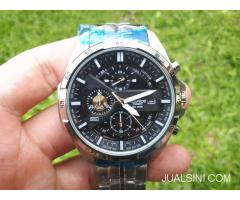 Jam Tangan Pria Casio Edifice EFR-556 DY Original Stainless Steel