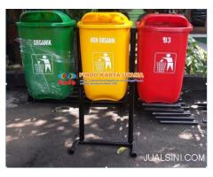 Distributor Tong Sampah Outdor Oval Tiga Warna