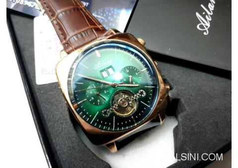 Jam Tangan Automatic Pria Ailang 8655 Chronograph Stainless Steel