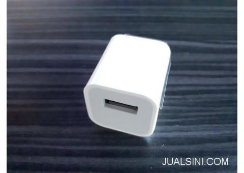Charger iPhone 4 4s 4G iPod 1 2 iPad 1 2 New Kepala Adaptor Plus Kabel