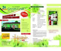 Rumah Bersubsidi Kualitas Cluster Komersil Modern - Setu, Bekasi