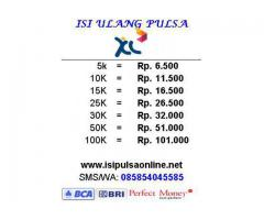 Isi Pulsa All Operator Online